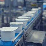 Yogurt filling line