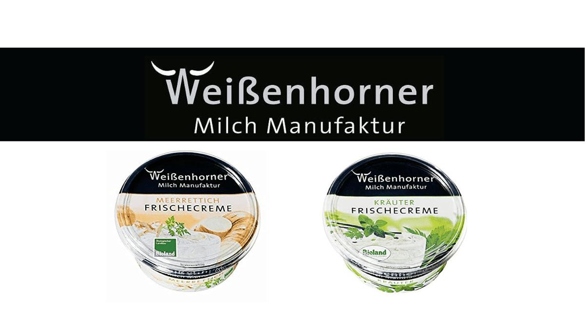 , Organic dairy desserts: Weissenhorner Molkerei cups sterilization