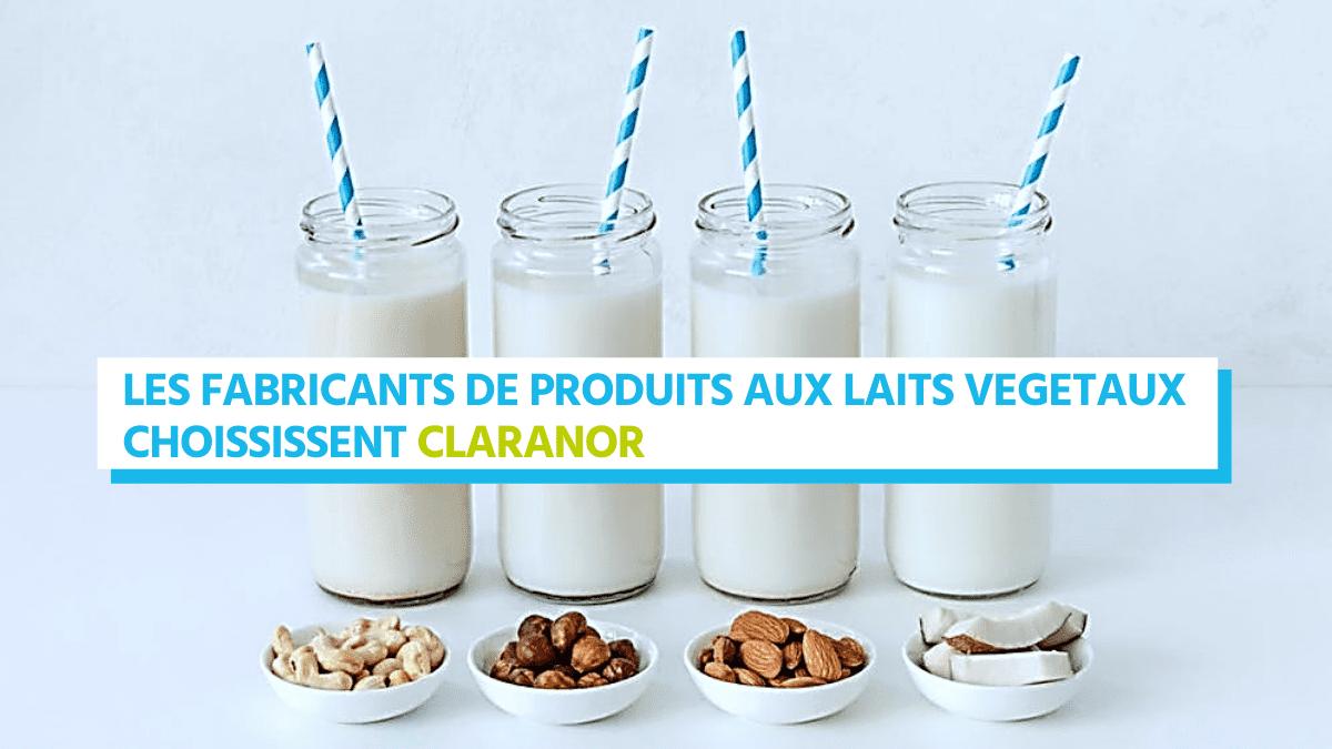 , Les fabricants de produits aux laits végétaux ont choisi la Lumière Pulsée Claranor
