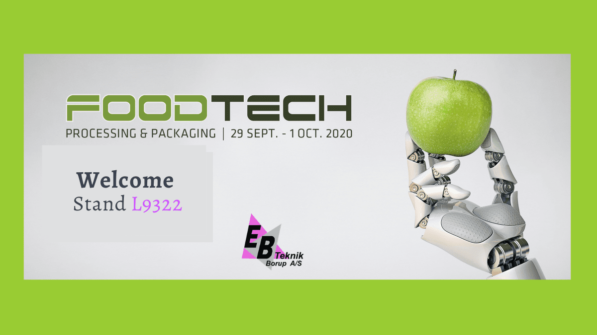 , FoodTech, 29-30 September, Bo and Benjamin welcome you stand L9322!