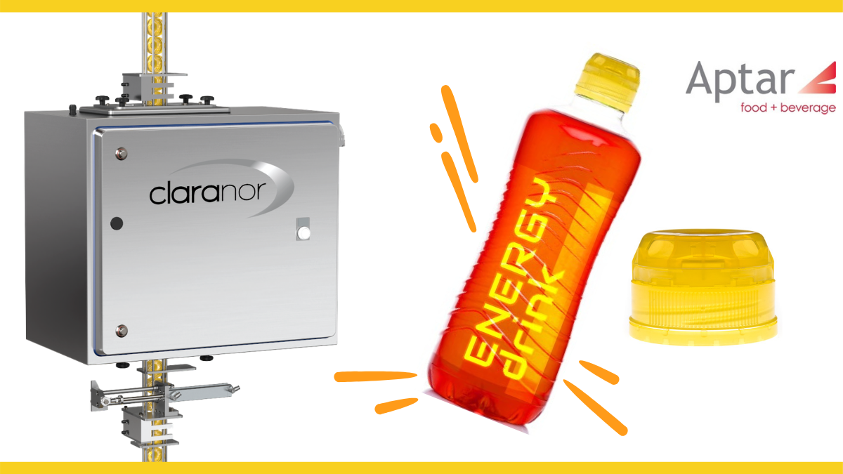 Aptar Food and Beverage and Claranor Pulsed light sterilization partnership dedicated to functional drinks., Aptar Food + Beverage and Claranor