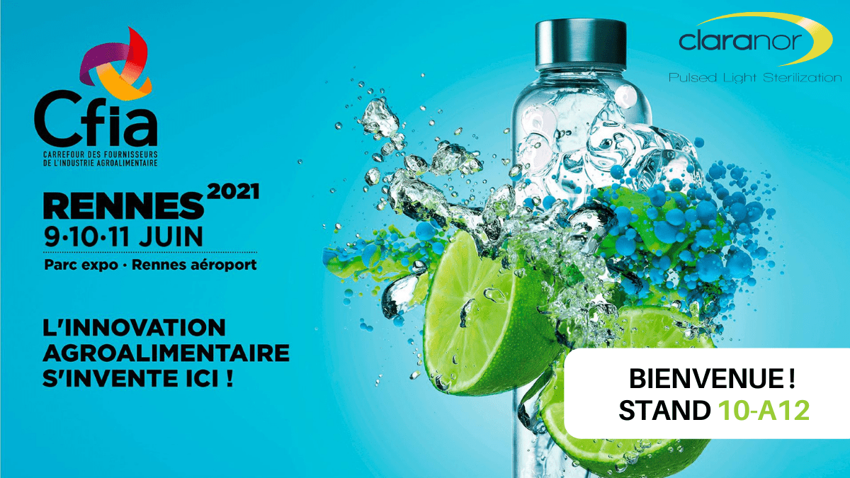 , Claranor au CFIA, du 9 au 11 juin 2021 à Rennes